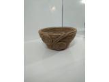 Hasır Örgü Kutu Çap 30cm