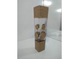Hasır ve Cam Örgü Large Vazo 40 x 10 Cm (Bys-13)