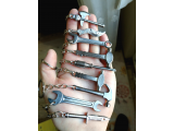 Metal Figür Anahtarlık